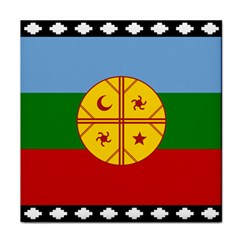 Flag Of The Mapuche People Face Towel by abbeyz71