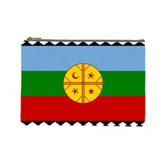 Flag Of The Mapuche People Cosmetic Bag (large)  by abbeyz71
