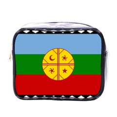 Flag Of The Mapuche People Mini Toiletries Bags by abbeyz71