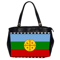 Flag Of The Mapuche People Office Handbags (2 Sides)  by abbeyz71