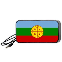 Flag Of The Mapuche People Portable Speaker by abbeyz71