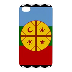 Flag Of The Mapuche People Apple Iphone 4/4s Hardshell Case by abbeyz71