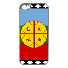 Flag Of The Mapuche People Apple Iphone 5 Case (silver) by abbeyz71