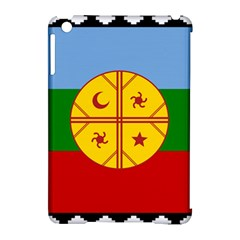 Flag Of The Mapuche People Apple Ipad Mini Hardshell Case (compatible With Smart Cover) by abbeyz71