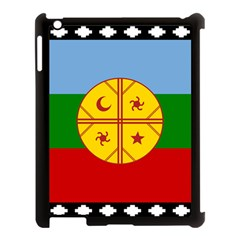 Flag Of The Mapuche People Apple Ipad 3/4 Case (black) by abbeyz71