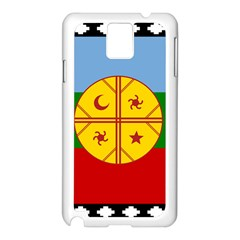 Flag Of The Mapuche People Samsung Galaxy Note 3 N9005 Case (white) by abbeyz71