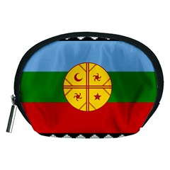 Flag Of The Mapuche People Accessory Pouches (medium)  by abbeyz71