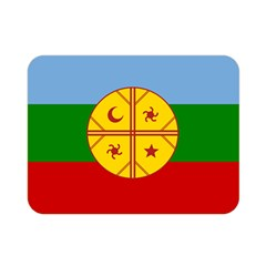 Flag Of The Mapuche People Double Sided Flano Blanket (mini)  by abbeyz71