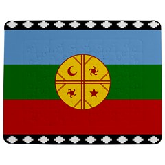 Flag Of The Mapuche People Jigsaw Puzzle Photo Stand (rectangular) by abbeyz71