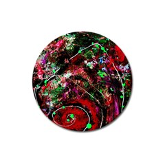 Bloody Coffee 6 Magnet 3  (round) by bestdesignintheworld