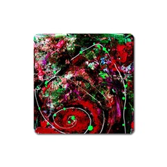 Bloody Coffee 6 Square Magnet by bestdesignintheworld