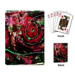 Bloody Coffee 5 Playing Card by bestdesignintheworld