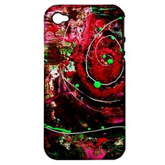 Bloody Coffee 5 Apple Iphone 4/4s Hardshell Case (pc+silicone) by bestdesignintheworld