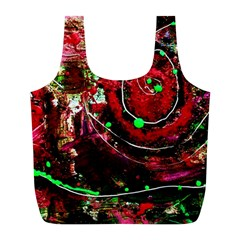 Bloody Coffee 5 Full Print Recycle Bags (l)  by bestdesignintheworld