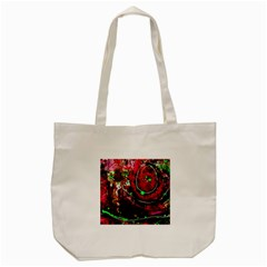 Bloody Coffee 5 Tote Bag (cream) by bestdesignintheworld
