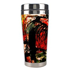 Alaska Industrial Landscape 4 Stainless Steel Travel Tumblers by bestdesignintheworld