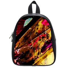 Absurd Theater In And Out 5 School Bag (small) by bestdesignintheworld