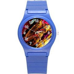 Absurd Theater In And Out 5 Round Plastic Sport Watch (s) by bestdesignintheworld