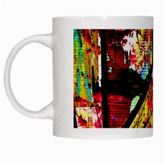 Absurd Theater In And Out White Mugs by bestdesignintheworld