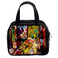 Absurd Theater In And Out Classic Handbags (2 Sides) by bestdesignintheworld