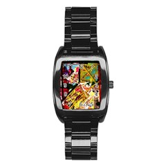 Absurd Theater In And Out Stainless Steel Barrel Watch by bestdesignintheworld