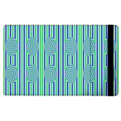 Pattern Factory 4181a Apple Ipad 3/4 Flip Case by MoreColorsinLife