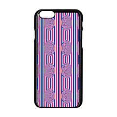Pattern Factory 4181b Apple Iphone 6/6s Black Enamel Case by MoreColorsinLife