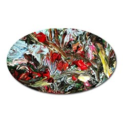 Eden Garden 11 Oval Magnet by bestdesignintheworld