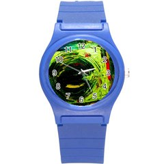 Abandoned Mine 3 Round Plastic Sport Watch (s) by bestdesignintheworld