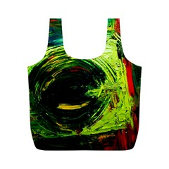 Abandoned Mine 3 Full Print Recycle Bags (m)  by bestdesignintheworld