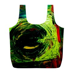 Abandoned Mine 3 Full Print Recycle Bags (l)  by bestdesignintheworld