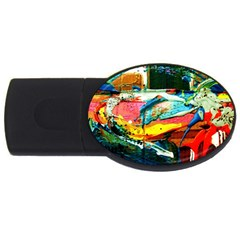 Aerobus Usb Flash Drive Oval (4 Gb) by bestdesignintheworld
