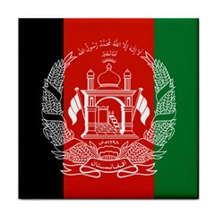 Flag Of Afghanistan Tile Coasters by abbeyz71