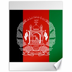 Flag Of Afghanistan Canvas 18  X 24   by abbeyz71