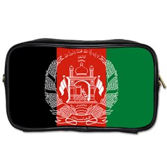 Flag Of Afghanistan Toiletries Bags by abbeyz71