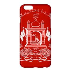 Flag Of Afghanistan Apple Iphone 6 Plus/6s Plus Hardshell Case by abbeyz71