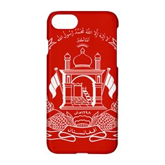 Flag Of Afghanistan Apple Iphone 8 Hardshell Case by abbeyz71