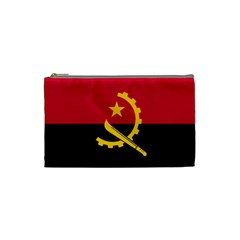 Flag Of Angola Cosmetic Bag (small)  by abbeyz71