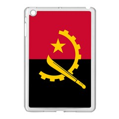 Flag Of Angola Apple Ipad Mini Case (white) by abbeyz71