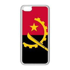 Flag Of Angola Apple Iphone 5c Seamless Case (white) by abbeyz71