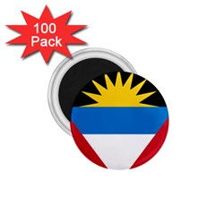 Flag Of Antigua & Barbuda 1 75  Magnets (100 Pack)  by abbeyz71