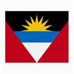 Flag Of Antigua & Barbuda Small Glasses Cloth (2 Side) by abbeyz71