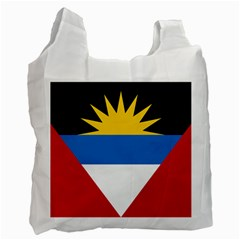 Flag Of Antigua & Barbuda Recycle Bag (two Side)  by abbeyz71