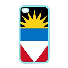 Flag Of Antigua & Barbuda Apple Iphone 4 Case (color) by abbeyz71