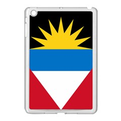 Flag Of Antigua & Barbuda Apple Ipad Mini Case (white) by abbeyz71
