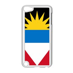 Flag Of Antigua & Barbuda Apple Ipod Touch 5 Case (white) by abbeyz71