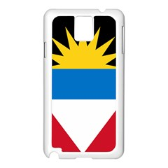 Flag Of Antigua & Barbuda Samsung Galaxy Note 3 N9005 Case (white) by abbeyz71