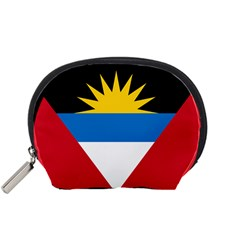Flag Of Antigua & Barbuda Accessory Pouches (small)  by abbeyz71
