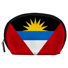 Flag Of Antigua & Barbuda Accessory Pouches (large)  by abbeyz71