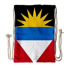 Flag Of Antigua & Barbuda Drawstring Bag (large) by abbeyz71